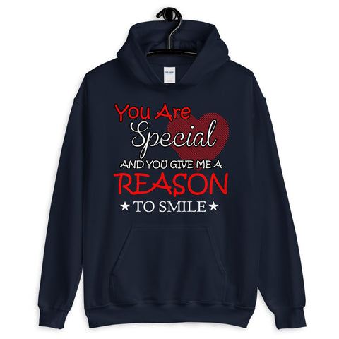 Image of Reason To Smile Unisex Hoodie