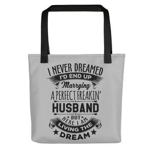 Perfect Freakin' Husband Tote bag