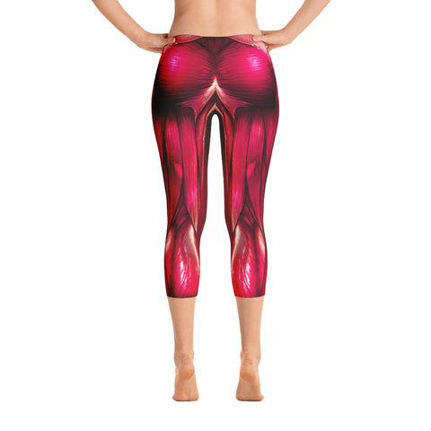 Image of Pink Muscles Capri