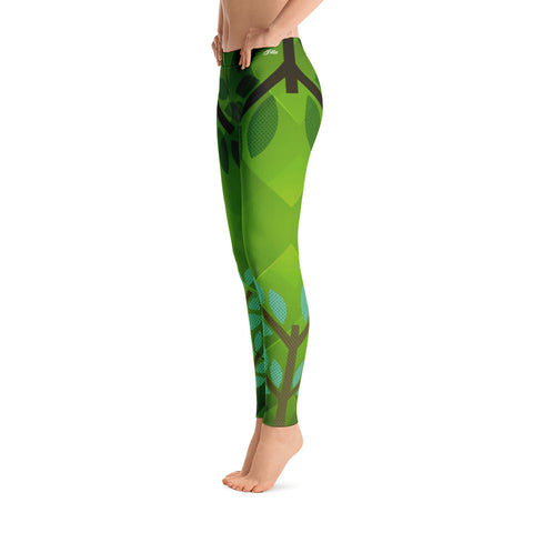 Image of Growing Tree Fashion Leggings