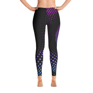 Colorful Halftone Leggings