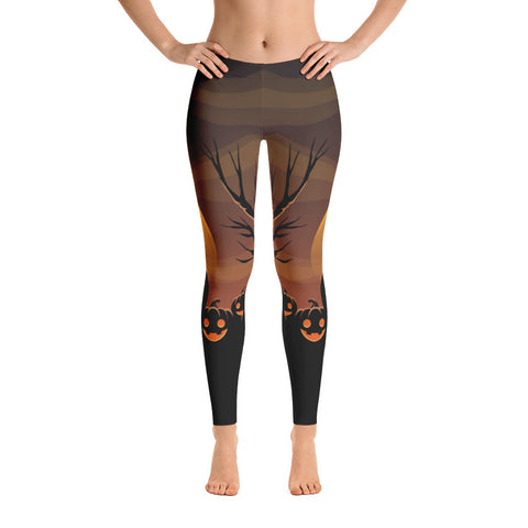 Night Pumpkins Leggings