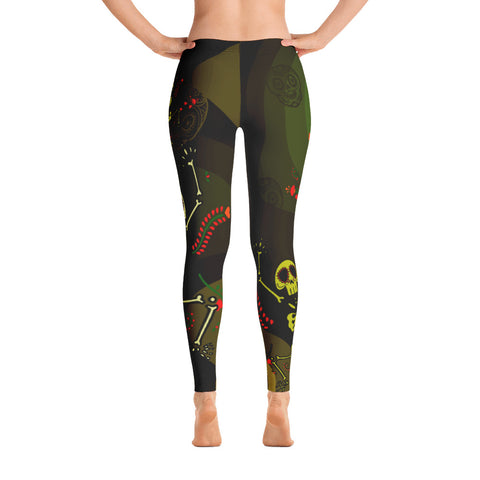 Camouflage Skeletons Leggings
