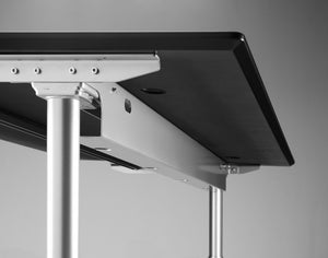 Cable tray for the corner standing desk from flomotion