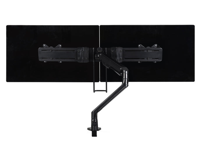 dual monitor arm with gas lift