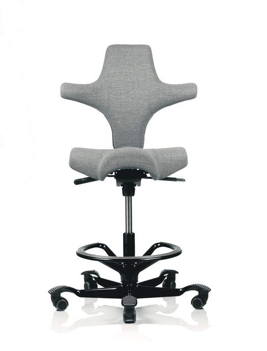 Capisco office chair, 8106 with black base and footring