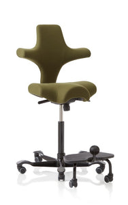 Stand up desk chair - HAG Capisco with StepUp