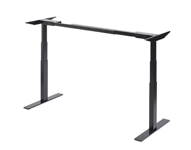 Skyflo adjustable standing desk frame in black