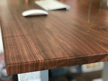 Load image into Gallery viewer, Solid walnut desktops from Flomotion
