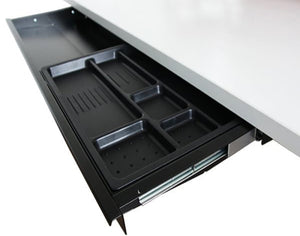 wide under desk drawer for sit-stand desks