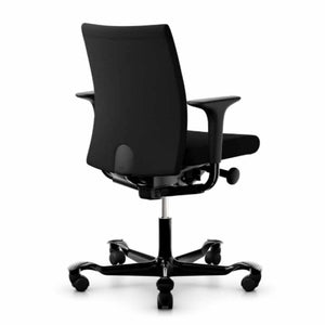 HAG Creed 6004 chair black select upholstery black base