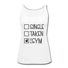 "Load image into Gallery viewer, ""At the Gym"" Tank (9 fashion colors) - white"