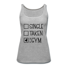 "Load image into Gallery viewer, ""At the Gym"" Tank (9 fashion colors) - heather gray"