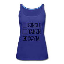 "Load image into Gallery viewer, ""At the Gym"" Tank (9 fashion colors) - royal blue"