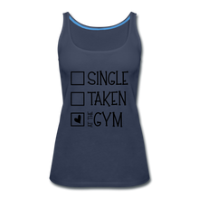 "Load image into Gallery viewer, ""At the Gym"" Tank (9 fashion colors) - navy"