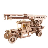 FIRE TRUCK WITH LADDER-UGEARS