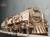 V-EXPRESS STEAM TRAIN WITH TENDER-UGEARS