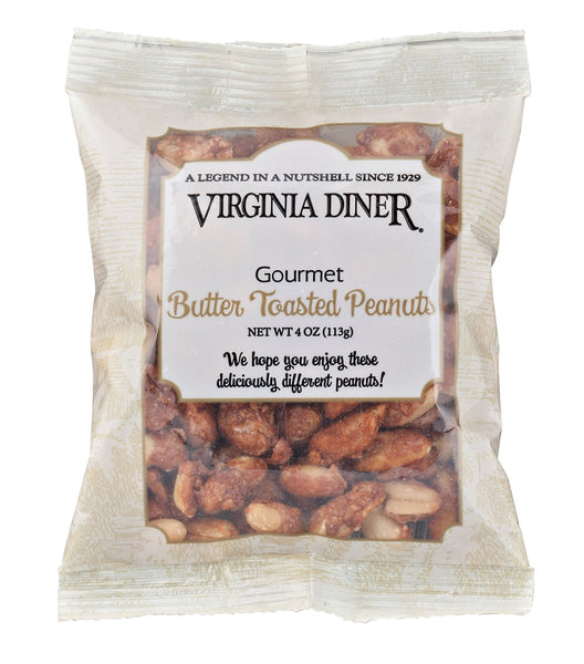 4 oz Butter Toasted Peanut Bag-Virginia Diner