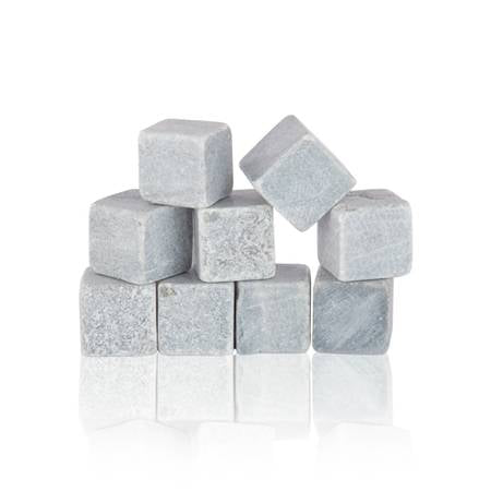 Glacier Rocks®: Set of 9 Soapstone Cubes