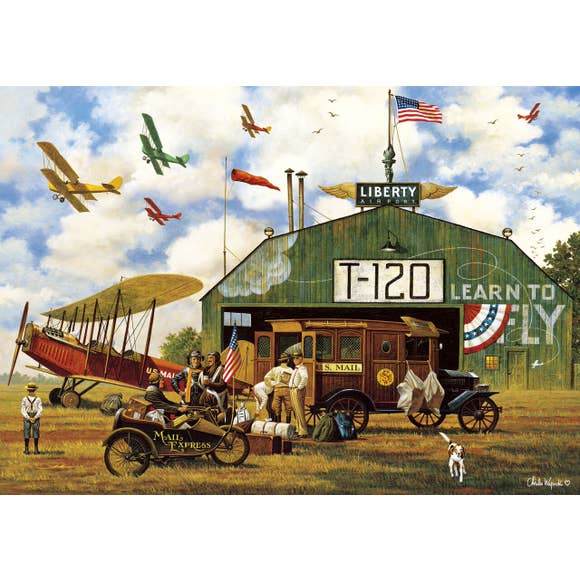 Hero Worship by Charles Wysocki 300 Large Piece Jigsaw Puzzle