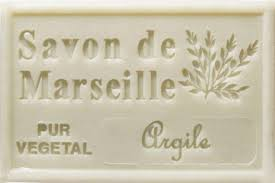 Clay | Savon de Marseille | French Soap 4.37 Oz