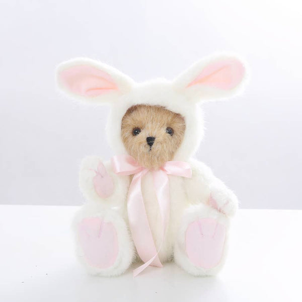 "10"" Jointed Old Fashioned Bear-Bunny"