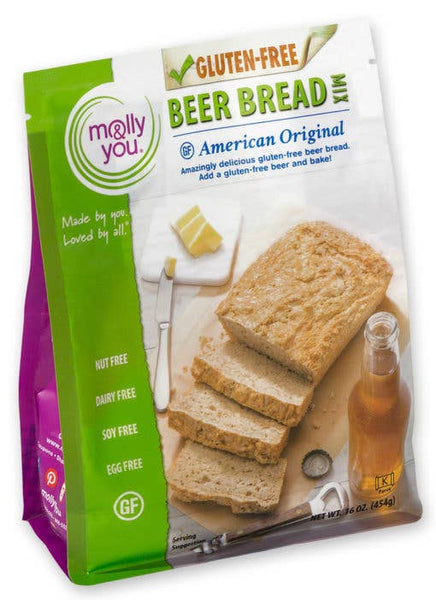 Gluten Free American Original Beer Bread Mix-Molly & You.