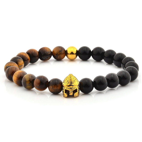 West Coast Jewelry - 11.5mm Spartan Helmet Bracelet