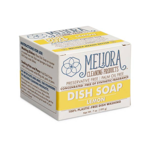 100% Plastic-Free Dish Soap for Hand Washing