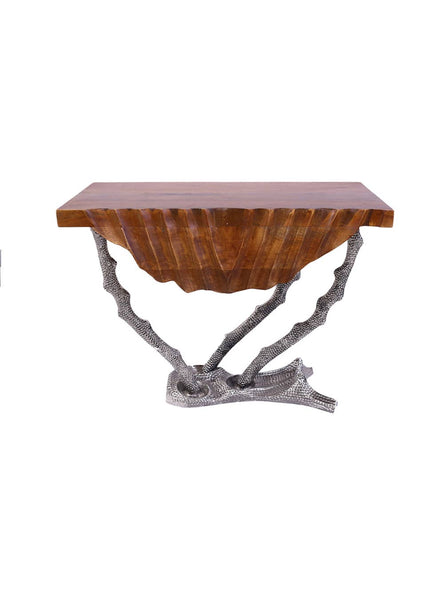 Mela Artisans - Coastal Life Accent Table