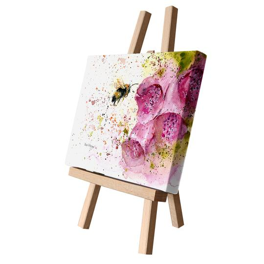 Bree Merryn Art LTD - Foxgloves Canvas Cutie