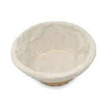 8.5''x 4'' Oval Basket with Fabric Lining - Natural Color