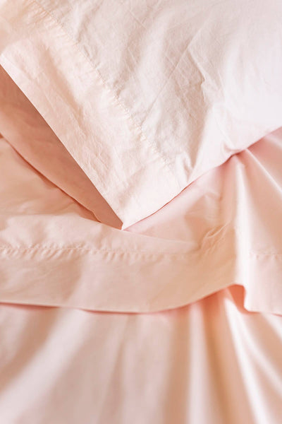 Linger Home, Inc - 100% Supima Cotton, 400 TC Percale Solid Sheet Set