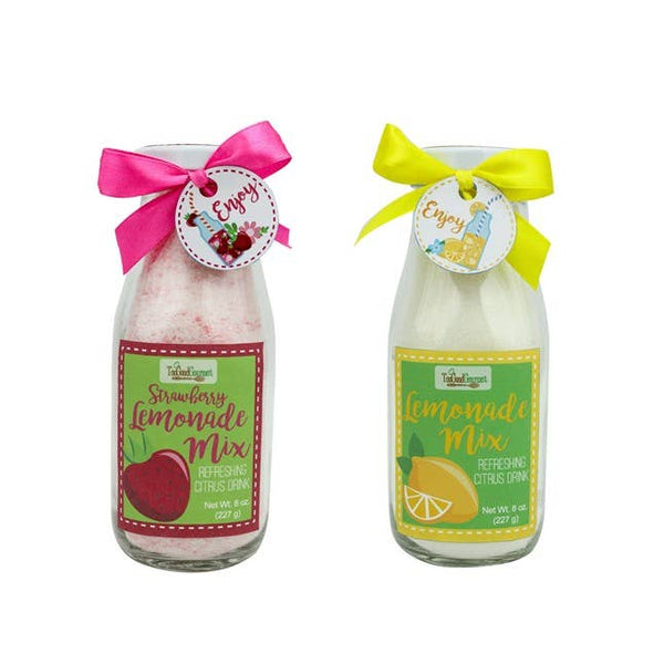 Strawberry Lemonade Jars 8oz- Too Good Gourmet
