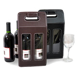 Wine Container-Synthetic leather