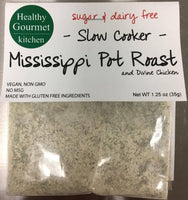 Mississippi Pot Roast- Healthy Gourmet Kitchen