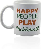 "Mug 11oz ""Pickleball"" White Ceramic, Hot-Tea, Chocolate, Coffee, Valentine, Birthday, Fathers, Brothers and many other occasions."