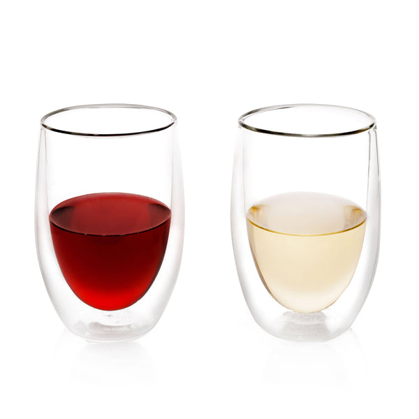 Double Wall Wine Glass