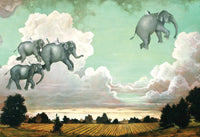 Flying Elephants 19'' X 13'' - JIGSAW PUZZLE