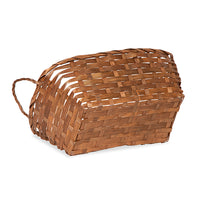 12''x 8'' Bamboo- Brown Braided Basket