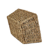 10''x 7'' Seaweed basket, Light Brown- small