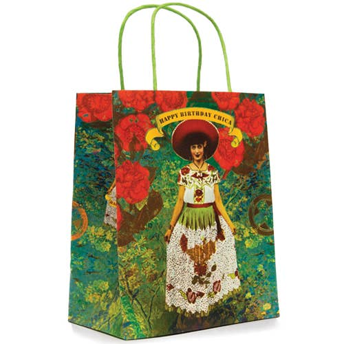 "10"" x 7.75"" Gift Bag - Chica"