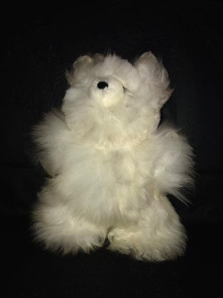 "12"" TEDDY BEAR 100% BABY-ALPACA"