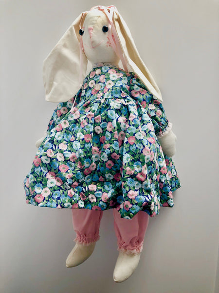 20'' Doe- With Flowered dress