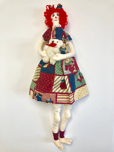 23'' Clown Girl- With Teddy Bear