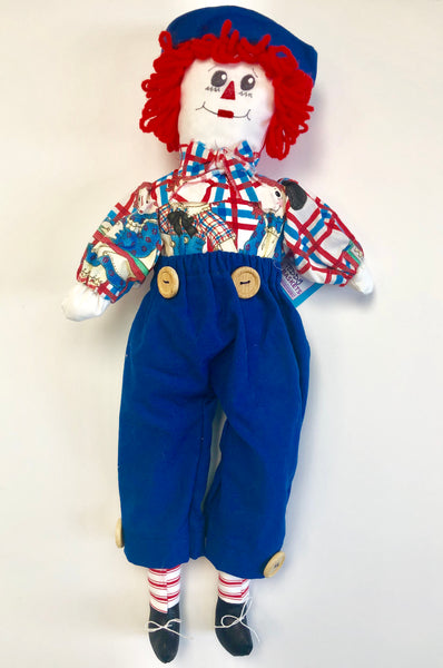 19.5'' Clown Boy- Blue Pants