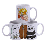 White Ceramic Sublimation Coffee Mug - 11oz.