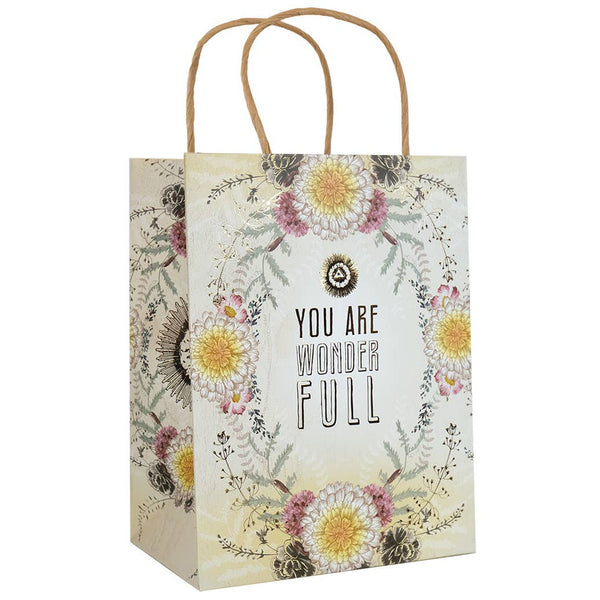 "10"" x 7.75"" Gift Bag - You are Wonder Full"