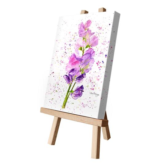 Bree Merryn Art LTD - Sweet Peas Canvas Cutie