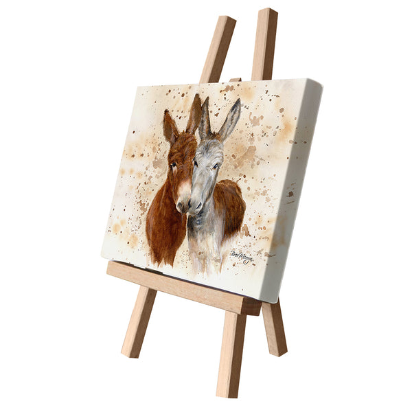 Bree Merryn Art LTD - Jack and Diane Canvas Cutie